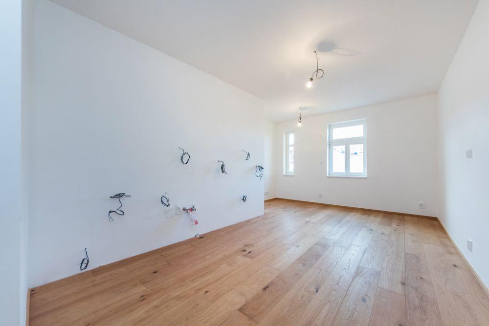 Půdní byt 2+kk, plocha 52 m², Čajkovského 25, Praha 3 - Žižkov