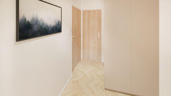 Půdní byt 3+kk, plocha 90 m², Čajkovského 25, Praha 3 - Žižkov