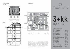 Půdní byt 3+kk, Praha 3