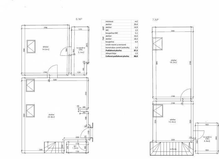 Půdní byt 3+1