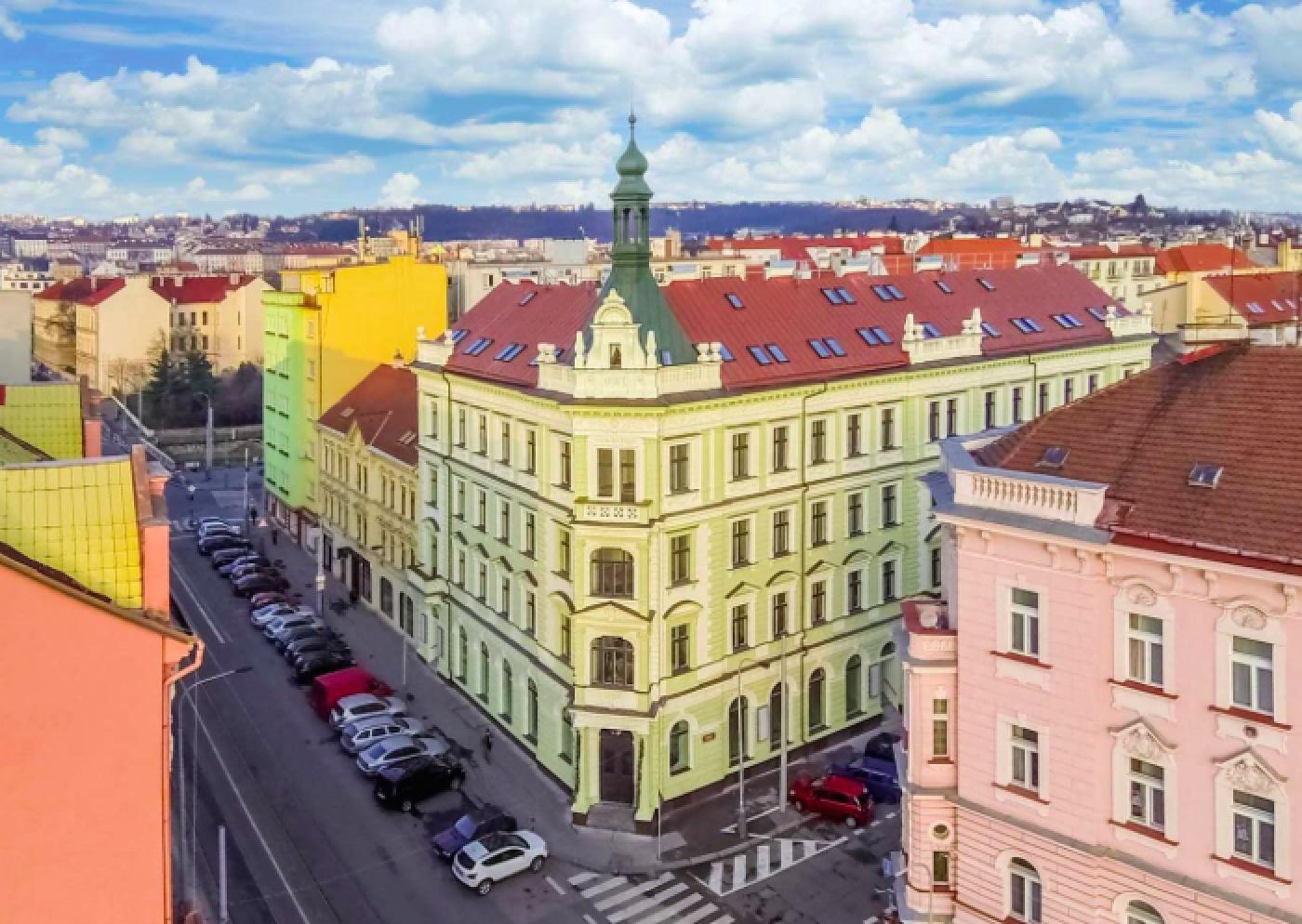 Developerský projekt Světova, ulice Světova, Praha 8 - Libeň   2