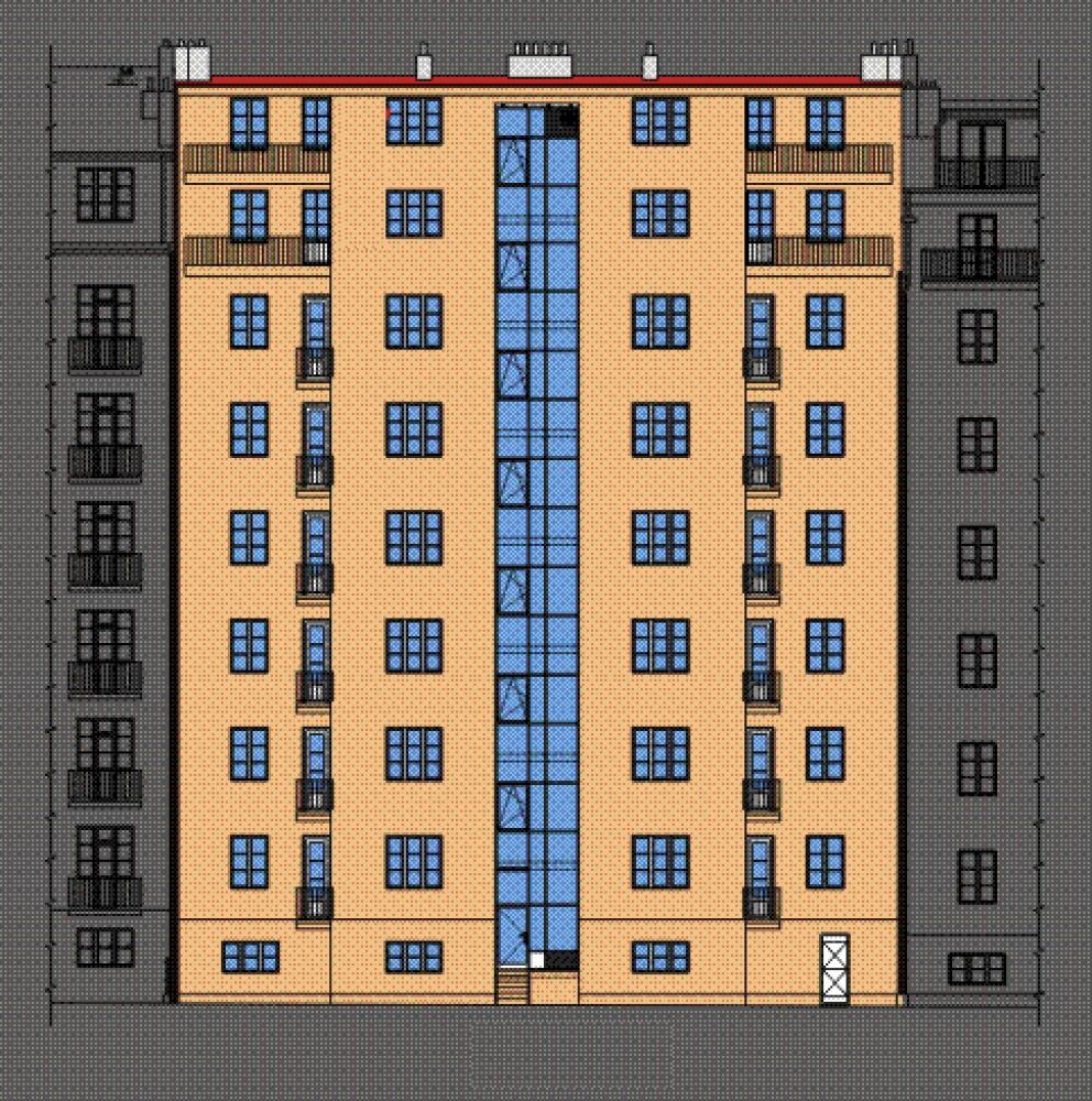 Developerský projekt Biskupcova, ulice Biskupcova, Praha 3 - Žižkov | 4