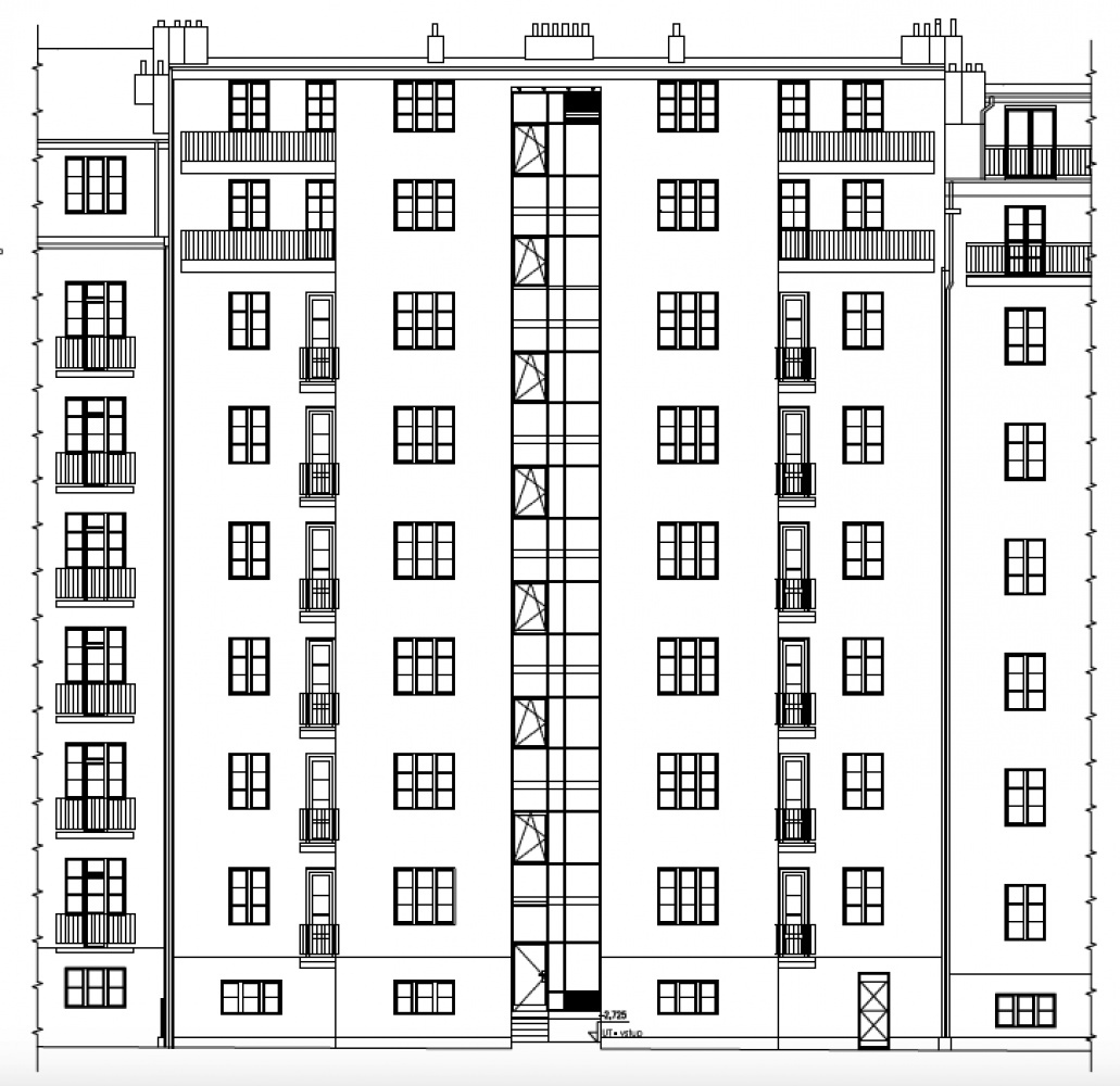 Developerský projekt Biskupcova, ulice Biskupcova, Praha 3 - Žižkov | 2