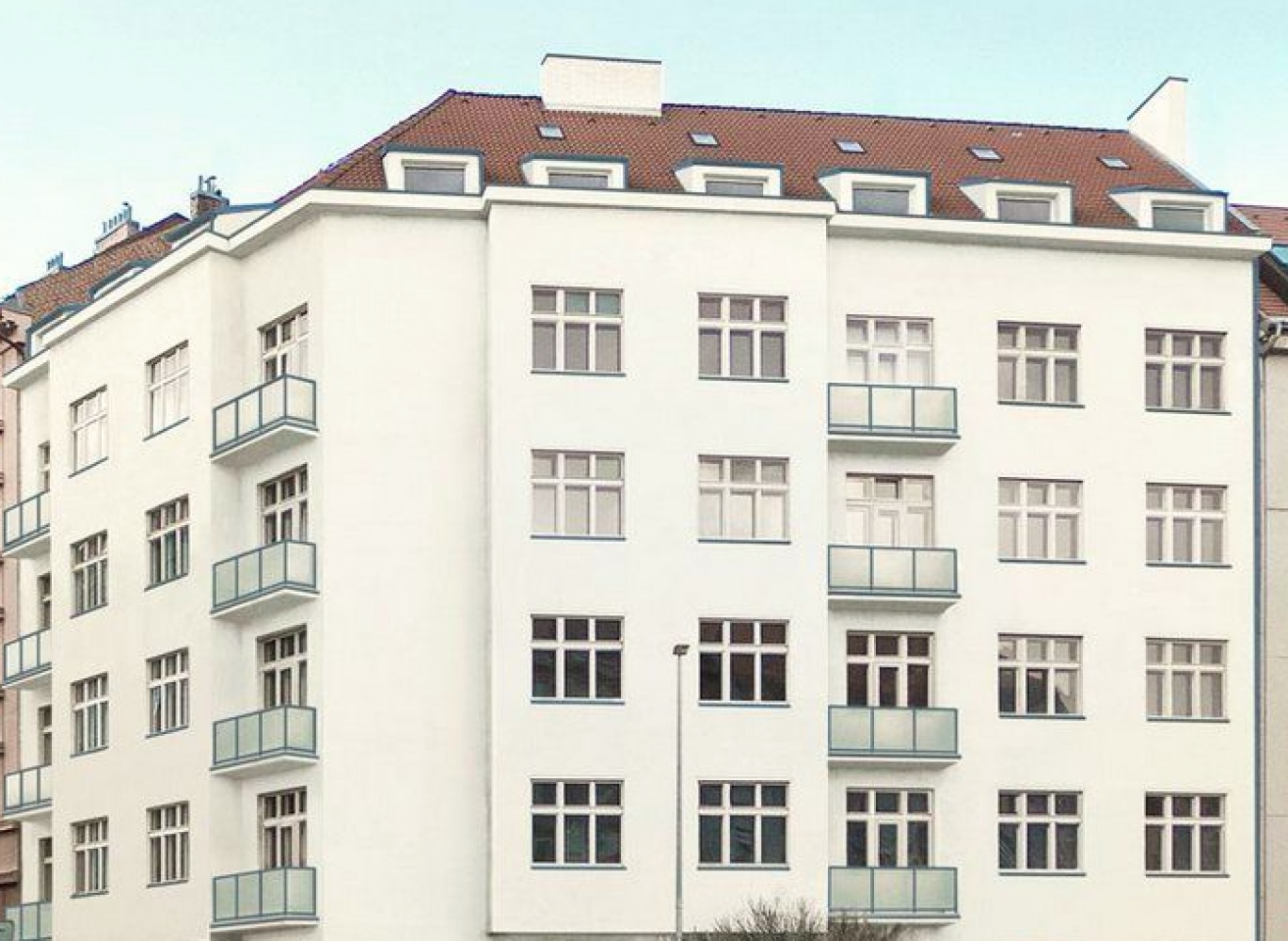 Vizualizace domu - developerský projekt Dejvice, ulice Wuchterlova, Praha 6 - Dejvice | 1