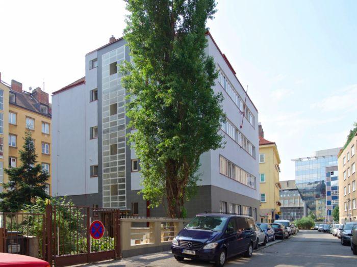 Developerský projekt Hradeckých, ulice Hradeckých, Praha 4 - Nusle | 2