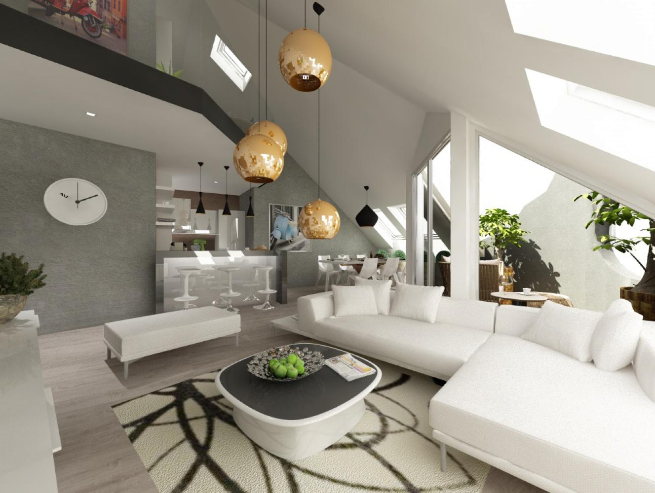Půdní byt 5+kk, plocha 158 m², ulice Srbská, Praha 6 - Dejvice | 1