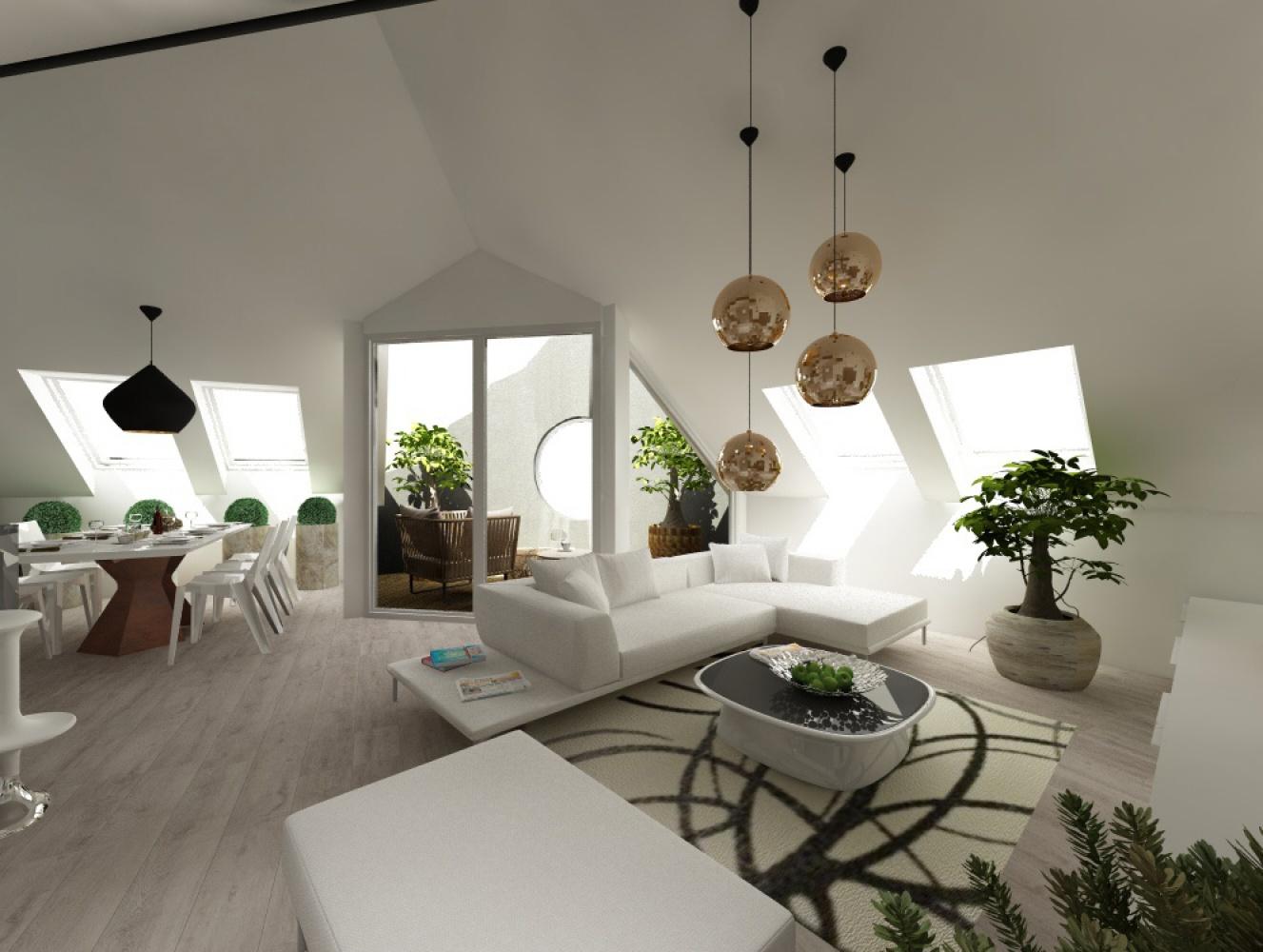 Půdní byt 5+kk, plocha 158 m², ulice Srbská, Praha 6 - Dejvice | 3