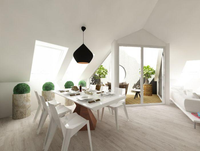 Půdní byt 5+kk, plocha 158 m², ulice Srbská, Praha 6 - Dejvice | 5