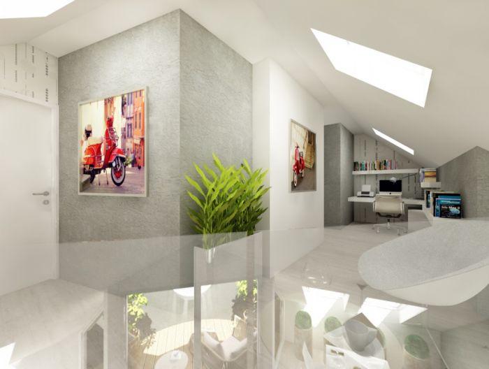 Půdní byt 5+kk, plocha 158 m², ulice Srbská, Praha 6 - Dejvice | 6