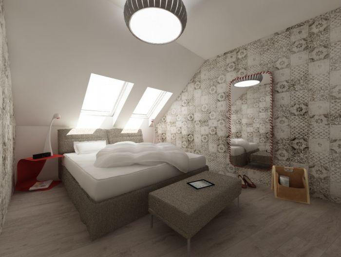 Půdní byt 5+kk, plocha 158 m², ulice Srbská, Praha 6 - Dejvice | 8