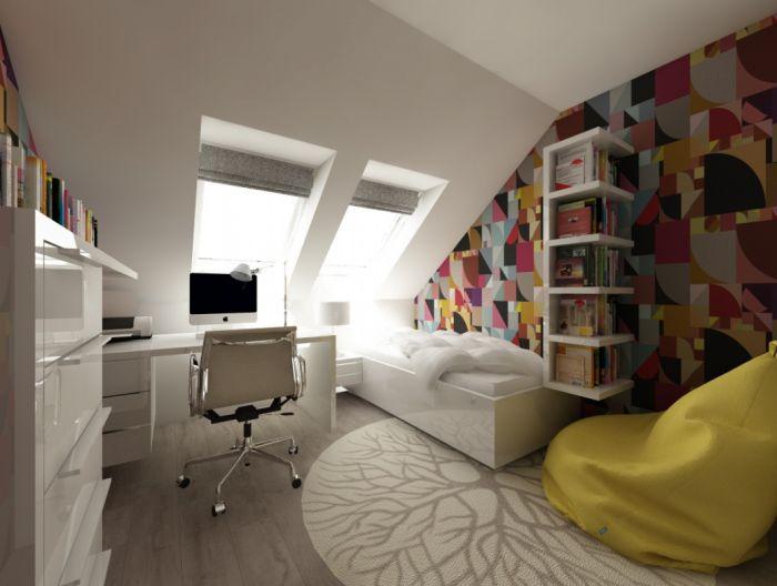 Půdní byt 5+kk, plocha 158 m², ulice Srbská, Praha 6 - Dejvice | 9