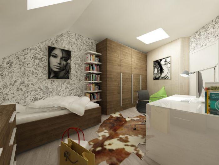 Půdní byt 5+kk, plocha 158 m², ulice Srbská, Praha 6 - Dejvice | 11