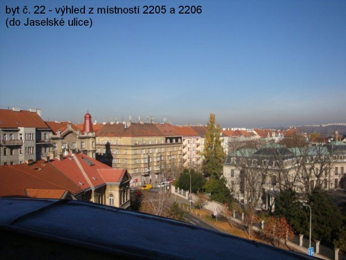 Půdní byt 5+kk, plocha 158 m², ulice Srbská, Praha 6 - Dejvice | 15