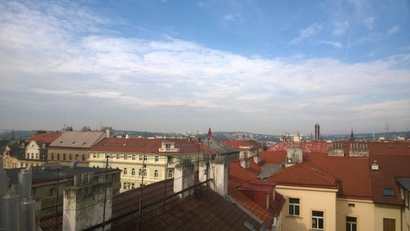Výhledy z bytů - developerský projekt Wenzigova 21, ulice Wenzigova, Praha 2 - Vinohrady | 6