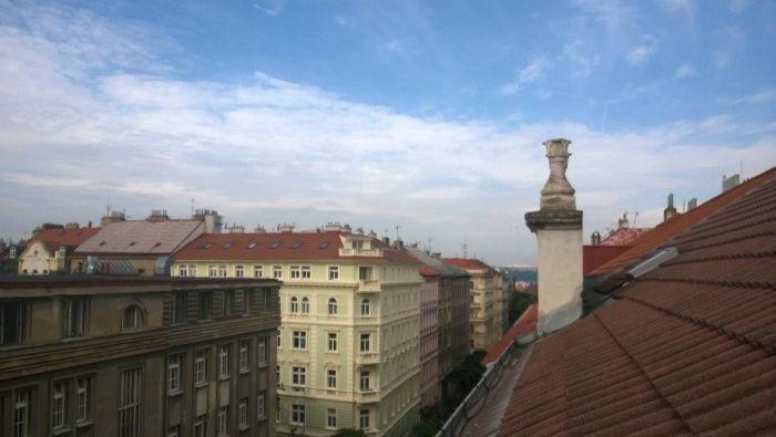 Výhledy z bytů - developerský projekt Wenzigova 21, ulice Wenzigova, Praha 2 - Vinohrady | 5