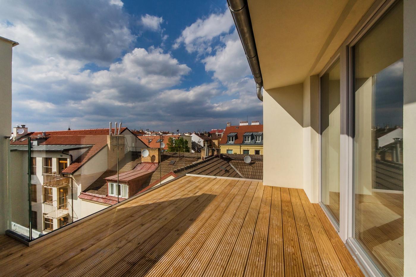 Půdní byt 4+kk, plocha 130 m², ulice Wenzigova, Praha 2 - Vinohrady | 1