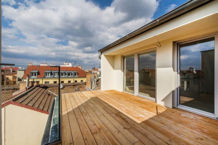 Půdní byt 4+kk, plocha 130 m², ulice Wenzigova, Praha 2 - Vinohrady | 2