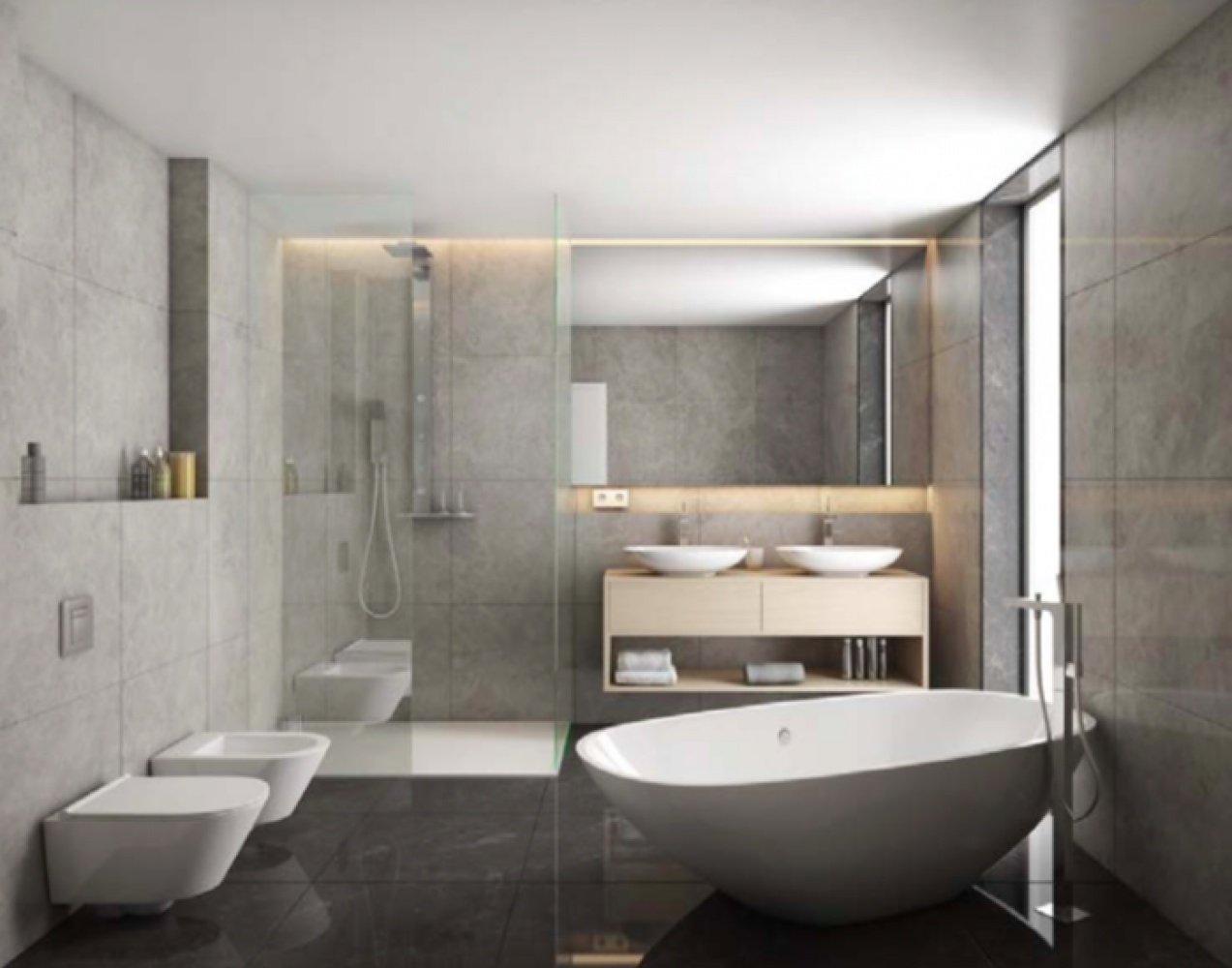 Vizualizace jednoho z bytů - Půdní byt 3+kk, plocha 162 m², ulice Kodaňská, Praha 10 - Vršovice | 3