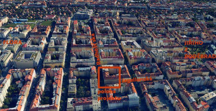 Developerský projekt Jagellonská, ulice Jagellonská, Praha 3 - Žižkov | 7
