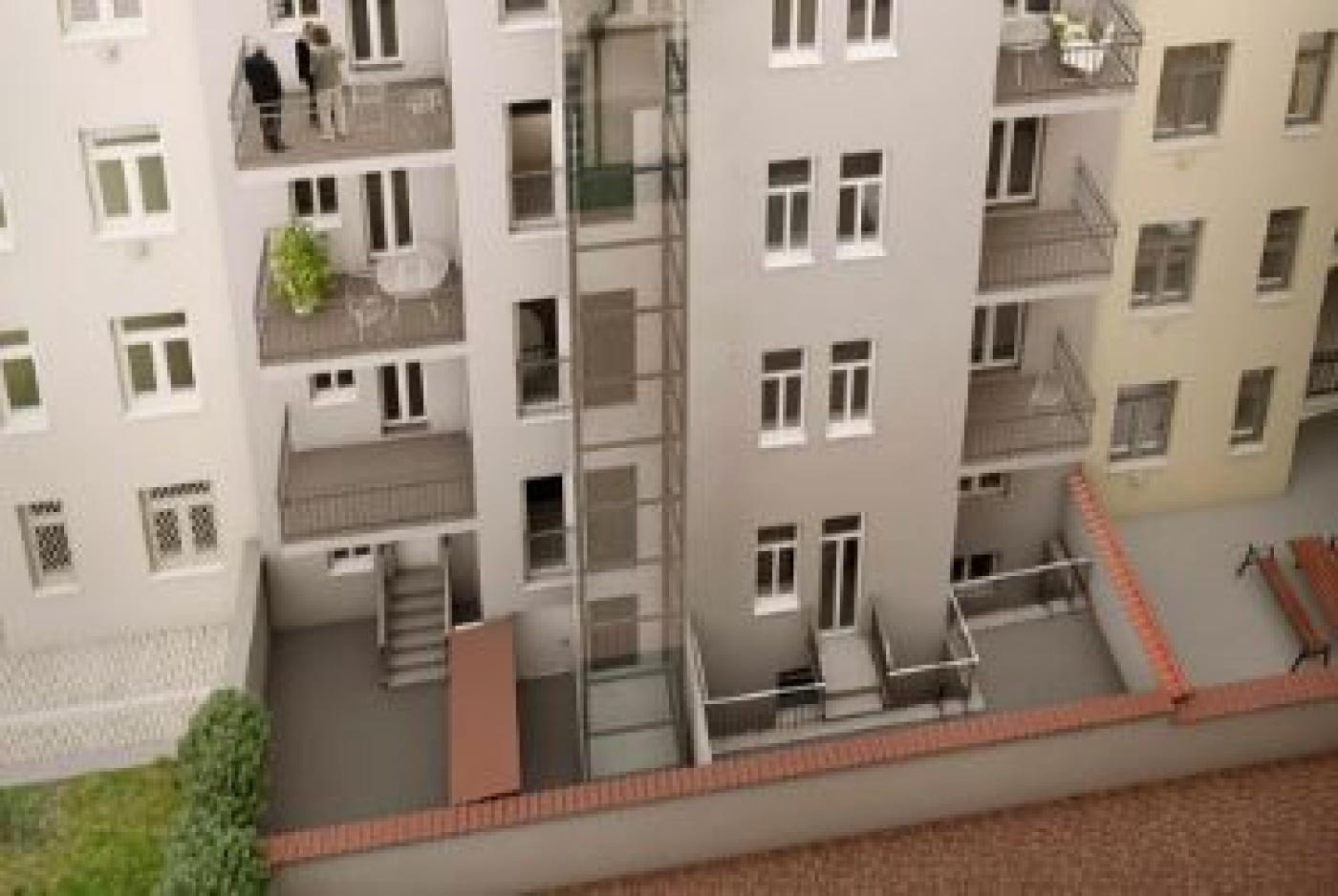 Půdní byt 2+kk, plocha 74 m², ulice Korunovační, Praha 7 - Bubeneč, cena 6 989 000 Kč | 3