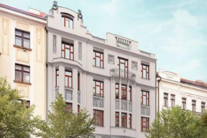 Developerský projekt Korunovační, ulice Korunovační, Praha 7 - Bubeneč | 1