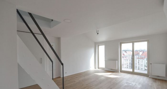 Půdní byt 3+kk, plocha 80 m², ulice Orelská, Praha 10 - Vršovice | 5