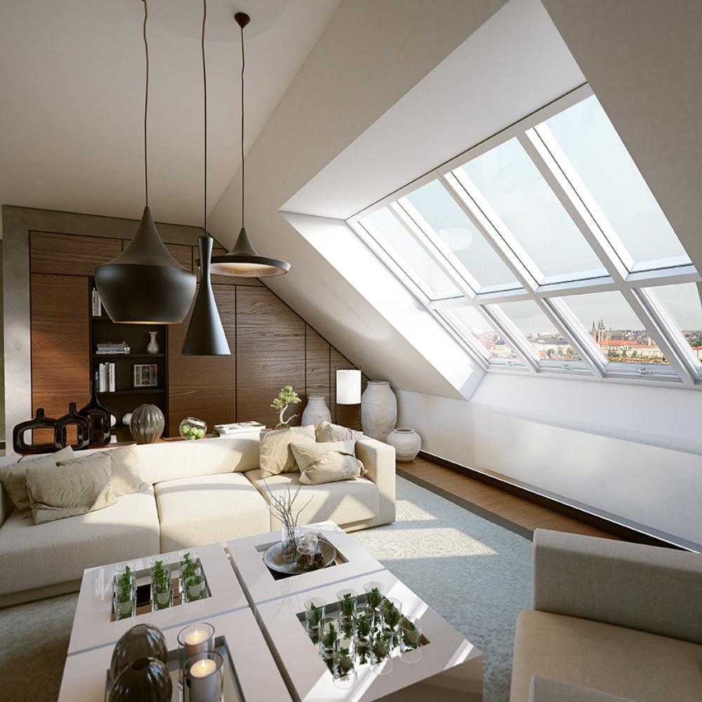 Půdní byt 5+kk, plocha 194 m², ulice Slezská, Praha 2 - Vinohrady | 3