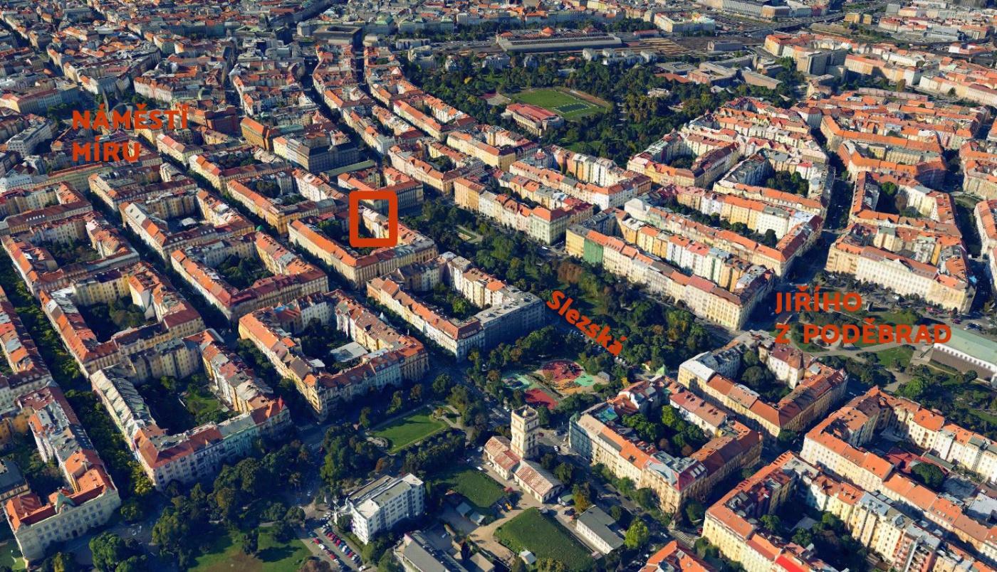 Developerský projekt Slezská, ulice Slezská, Praha 2 - Vinohrady | 7