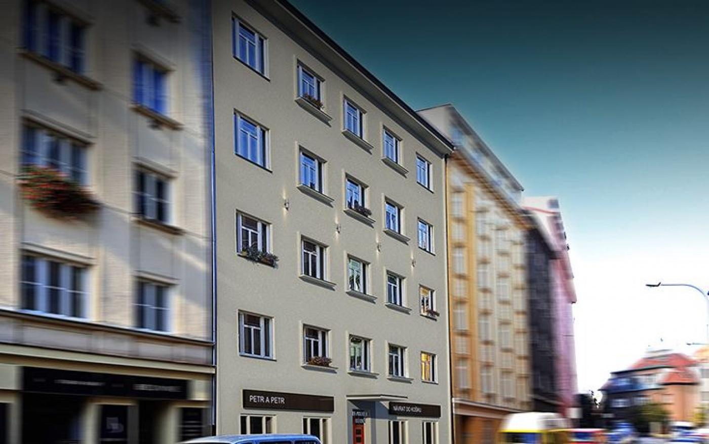 Developerský projekt Horní, ulice Horní, Praha 4 - Nusle | 1