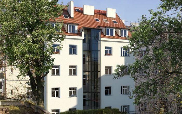 Developerský projekt Horní, ulice Horní, Praha 4 - Nusle | 2