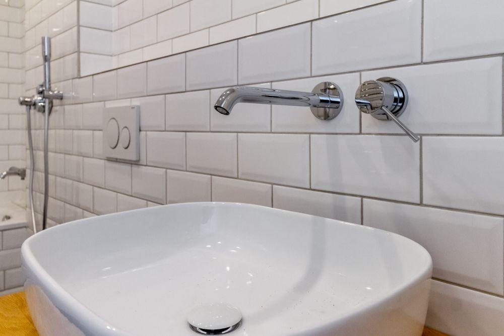 Půdní vestavba - koupelna - developerský projekt Husitská, ulice Husitská, Praha 3 - Žižkov | 9