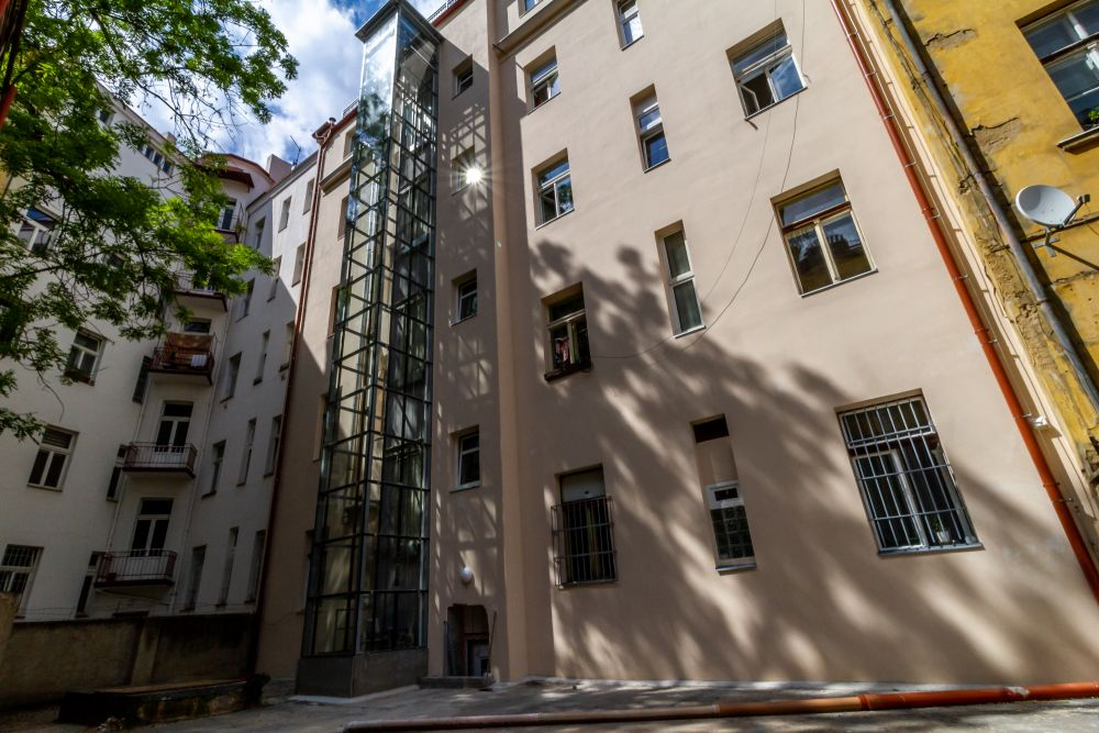 Rekonstruovaná fasáda - developerský projekt Husitská, ulice Husitská, Praha 3 - Žižkov | 15