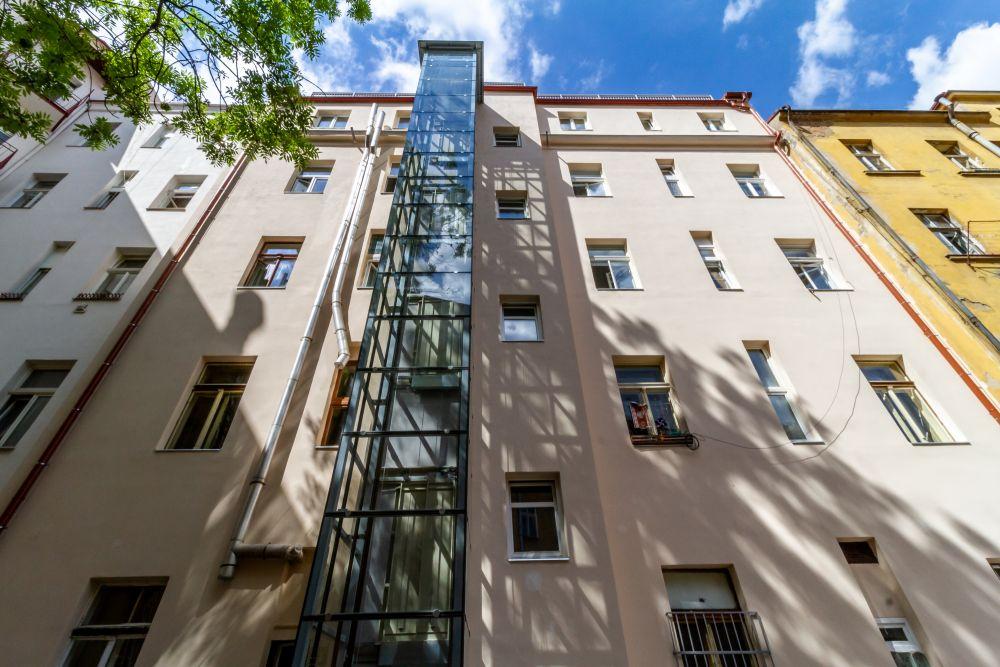 Nový výtah - developerský projekt Husitská, ulice Husitská, Praha 3 - Žižkov | 16