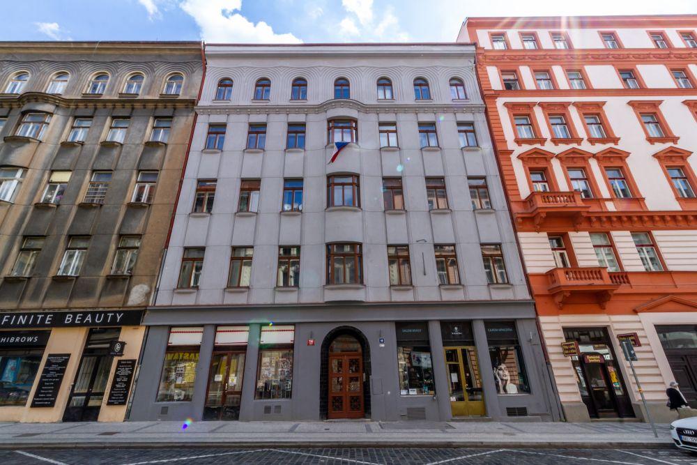 Rekonstrukce uliční fasády - developerský projekt Husitská, ulice Husitská, Praha 3 - Žižkov | 20