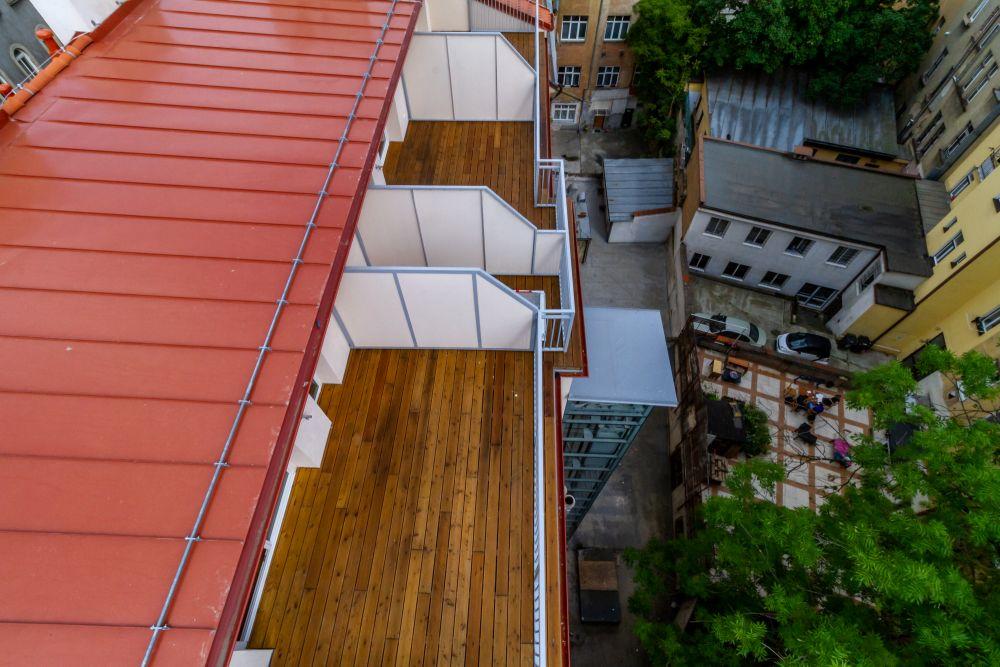 Půdní vestavba zhrora - developerský projekt Husitská, ulice Husitská, Praha 3 - Žižkov | 13