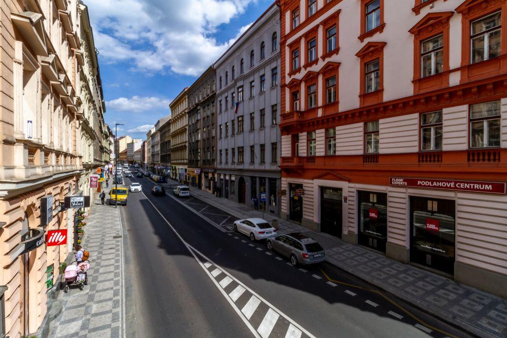 Rekonstruovaný dům - developerský projekt Husitská, ulice Husitská, Praha 3 - Žižkov | 19