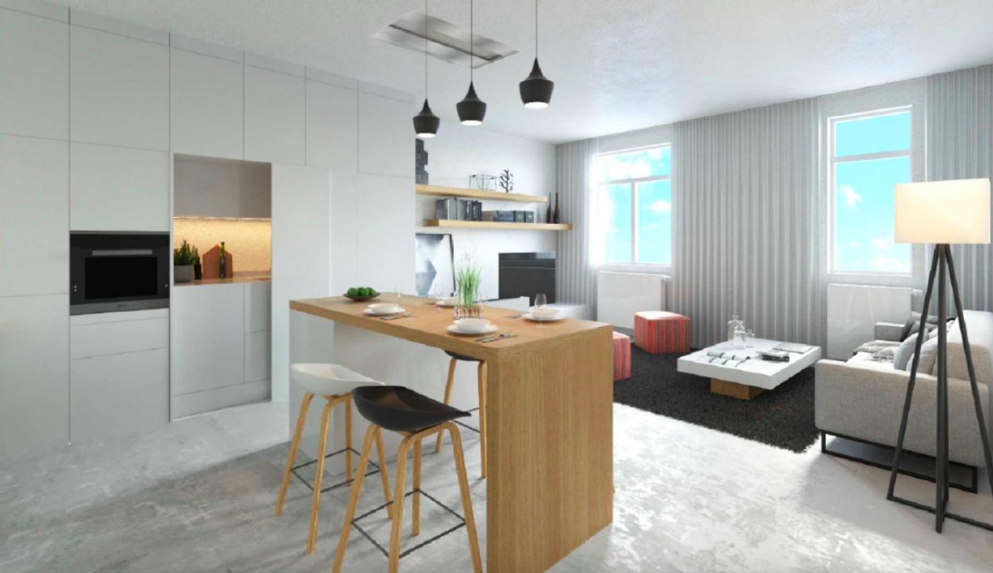 Půdní byt 4+kk, plocha 100 m², ulice Husitská, Praha 3 - Žižkov | 1