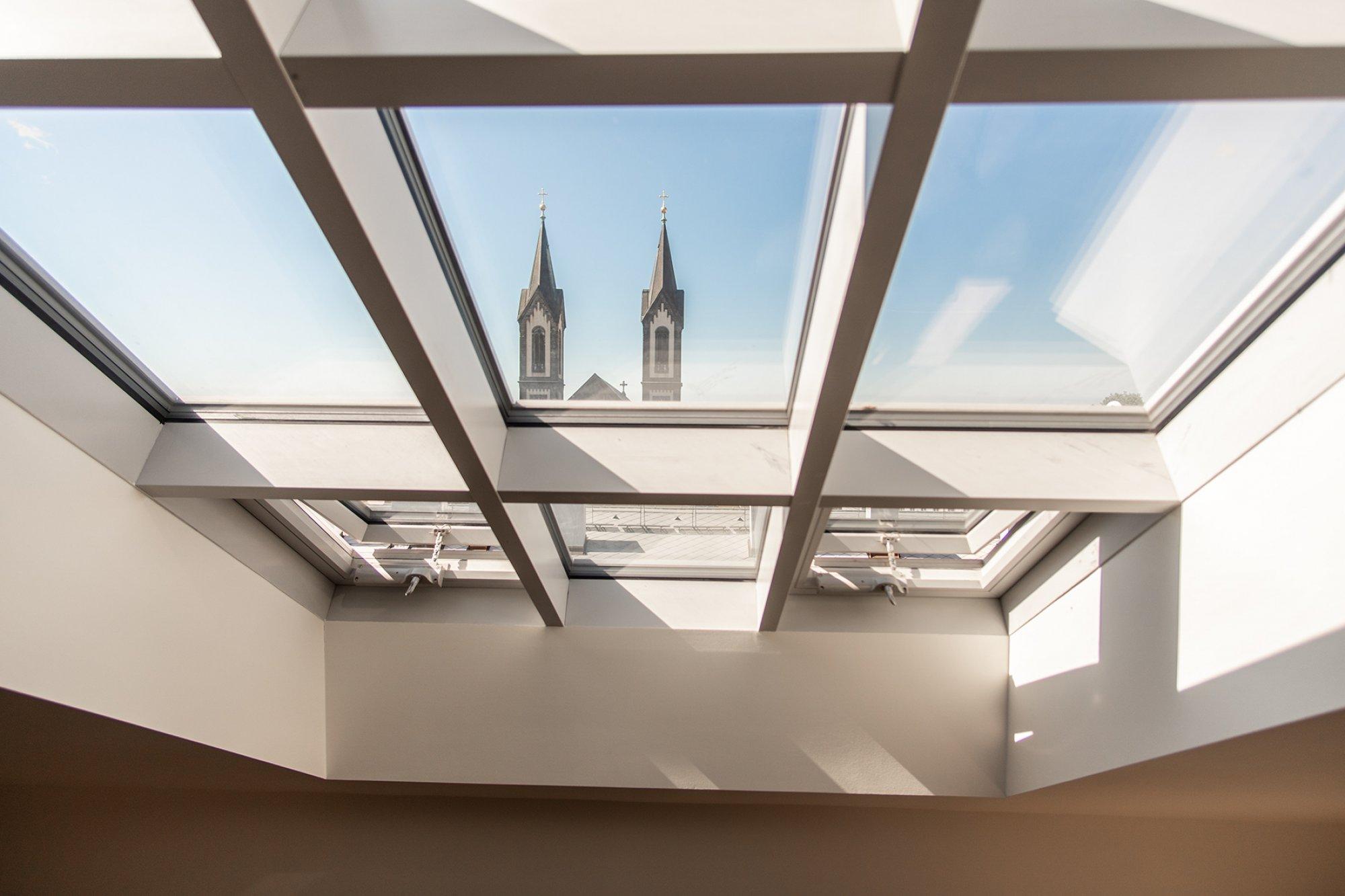 Půdní byt 4+kk, plocha 139 m², ulice Pernerova, Praha 8 - Karlín | 2