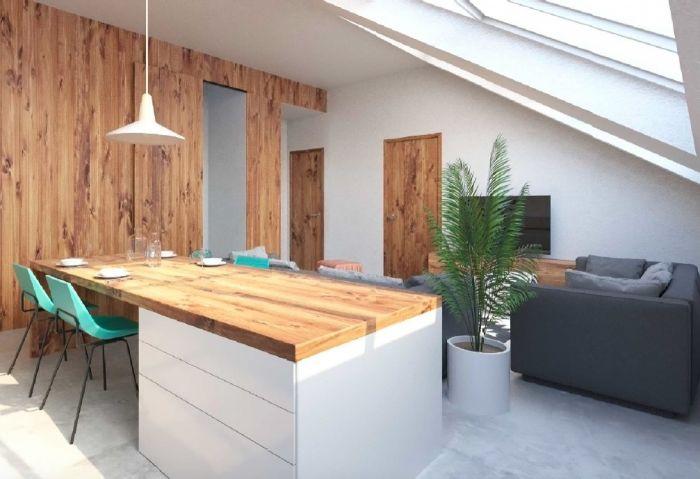 Půdní byt 3+kk, plocha 95 m², ulice Husitská, Praha 3 - Žižkov | 5