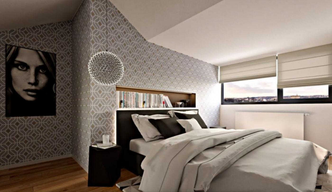 Půdní byt 3+kk, plocha 114 m², ulice Řehořova, Praha 3 - Žižkov   3