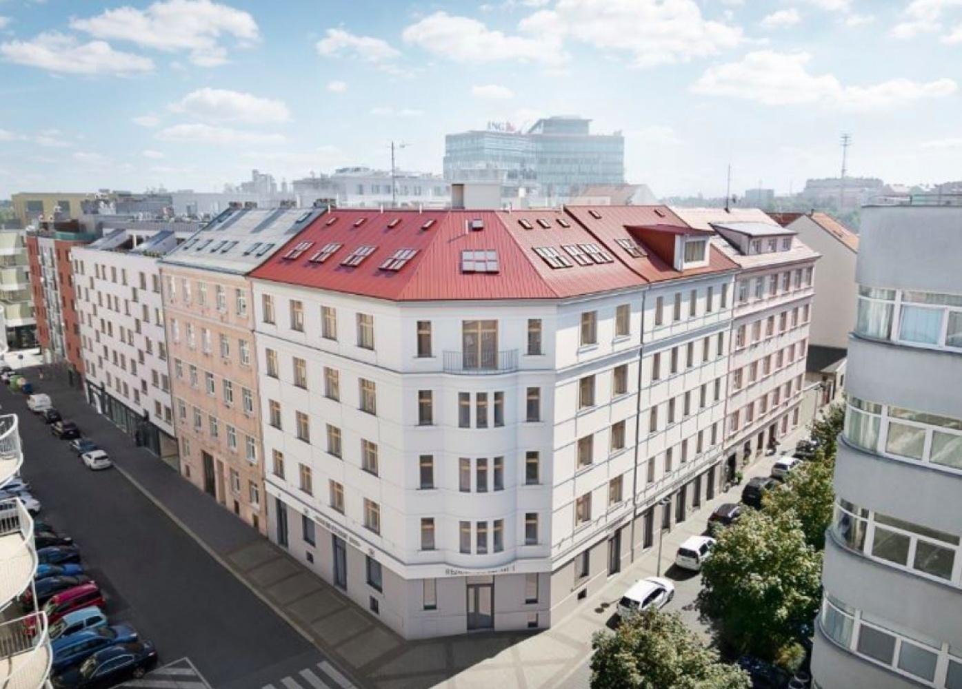 Půdní byt 2+kk, plocha 42 m², ulice Lihovarská, Praha 9 - Libeň, cena 4 419 000 Kč | 1