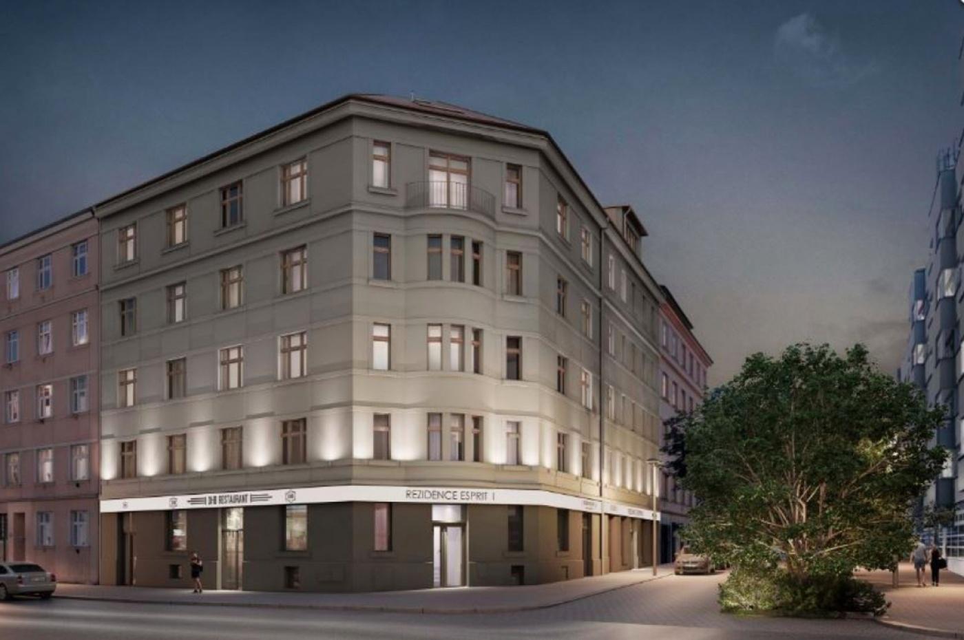 Půdní byt 2+kk, plocha 42 m², ulice Lihovarská, Praha 9 - Libeň, cena 4 419 000 Kč | 2