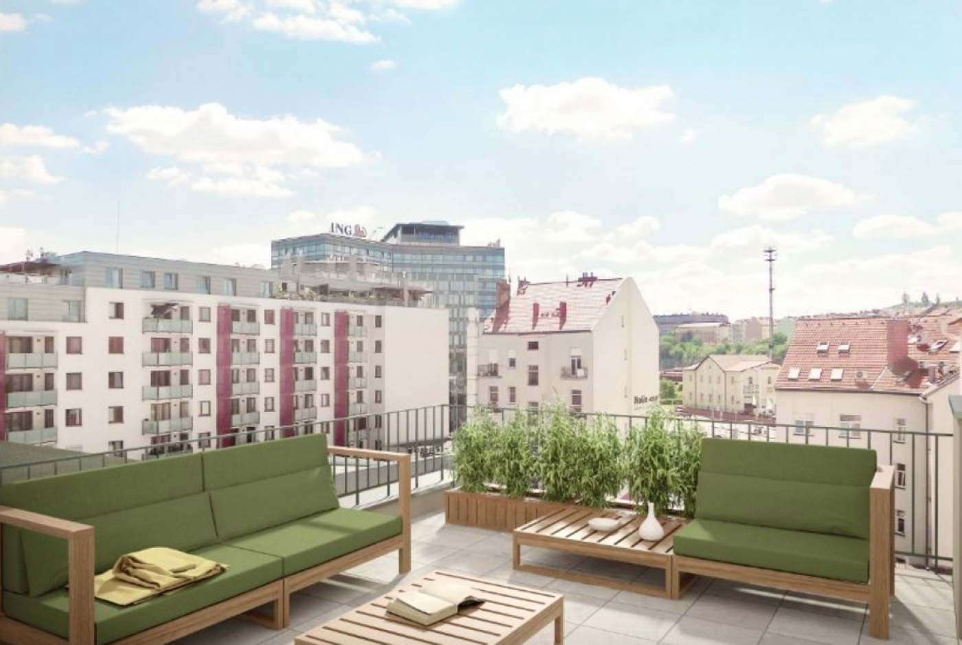 Půdní byt 2+kk, plocha 42 m², ulice Lihovarská, Praha 9 - Libeň, cena 4 419 000 Kč | 3