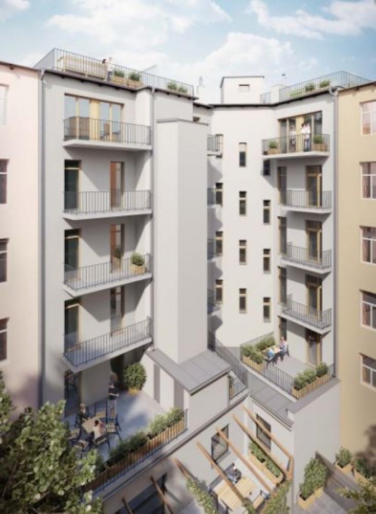 Půdní byt 2+kk, plocha 77 m², ulice Lihovarská, Praha 9 - Libeň, cena 6 117 000 Kč | 8