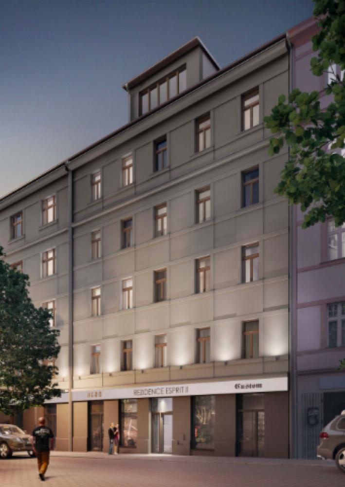 Půdní byt 2+kk, plocha 77 m², ulice Lihovarská, Praha 9 - Libeň, cena 6 117 000 Kč | 3