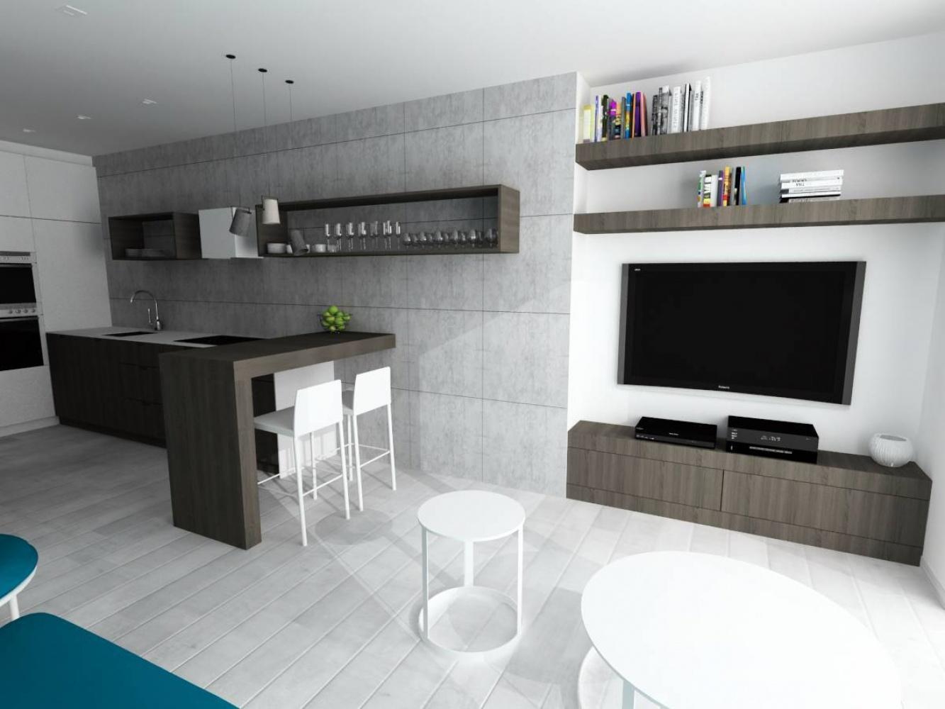 Půdní byt 2+kk, plocha 56 m², ulice Svatoslavova, Praha 4 - Nusle | 2