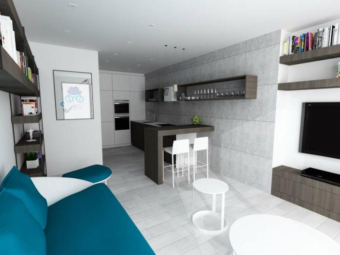 Půdní byt 2+kk, plocha 56 m², ulice Svatoslavova, Praha 4 - Nusle | 1