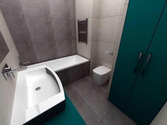 Půdní byt 2+kk, plocha 56 m², ulice Svatoslavova, Praha 4 - Nusle | 5