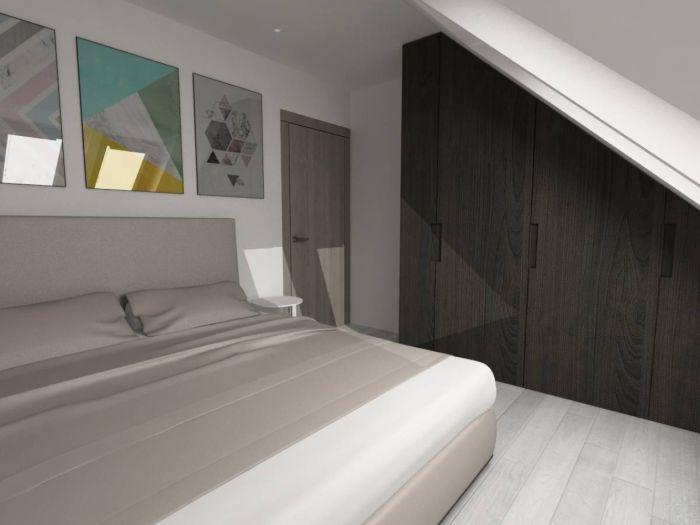 Půdní byt 2+kk, plocha 56 m², ulice Svatoslavova, Praha 4 - Nusle | 3
