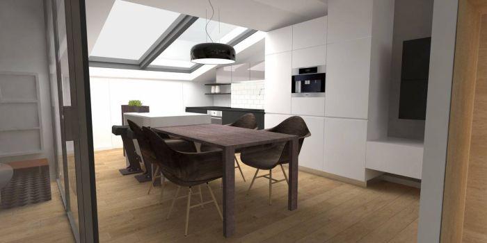 Půdní byt 2+kk, plocha 73 m², ulice Svatoslavova, Praha 4 - Nusle | 3